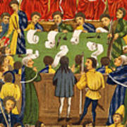 England: Court, 15th Century Poster