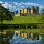 England, Northumberland, Alnwick Castle Poster