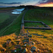 England, Northumberland, Hadrians Wall Poster