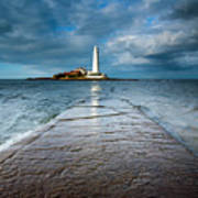 England, Tyne And Wear, Whitley Bay  Poster