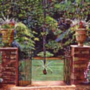 English Garden Elegance Poster