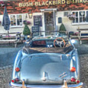 English Pub English Car Poster