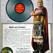 Enrico Caruso (1873-1921) Poster