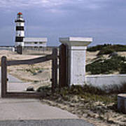 Entrance Of A Lighthouse, Cape Recife Poster