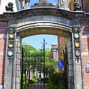 Entrance Of Bornhof Poster