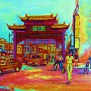 Entrance To Chinatown Poster