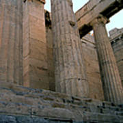 Entrance To Past Life   Acropolis Poster