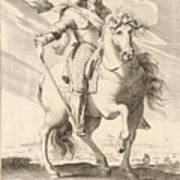 Equestrian Portrait Of Louis Xiii Of France Poster