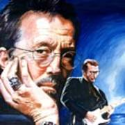 Eric Clapton Blues Lake Poster