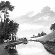 Erie Canal, 1837 Poster