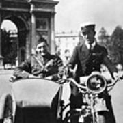 Ernest Hemingway (1899-1961) Poster