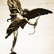 Eros Statue Poster by Neil Overy