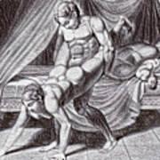 Erotic Drawing Six Poster