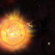 Eruption - Solar Storm Poster