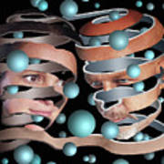 Escher Remastered II Poster