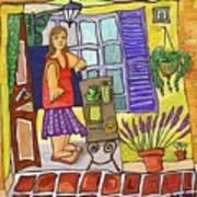 Esmorzant En Provence Poster