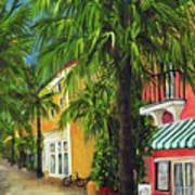 Espanola Way In Sobe Poster