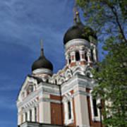 Estonia Church  Poster