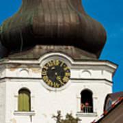 Estonian Baroque Onion Dome Poster