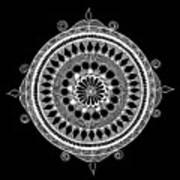 Estrella Mandala Poster