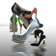 Eva's Shoes Poster