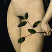 Eve Poster by The Elder Lucas Cranach