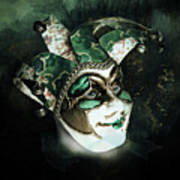 Even With Her Mask, Her Eyes Give Her Away Poster