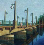 Evening, Bayville Bridge Poster