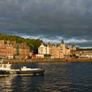 Evening In Oban Poster