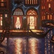 Evening In Venice Poster