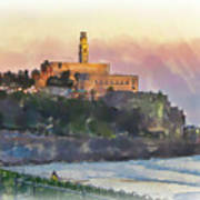 Evening Mood In Jaffa Poster