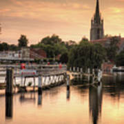 Evening Over Marlow Poster