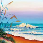 Evening Surf Poster