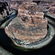 Evening Tones Horseshoe Bend Arizona Landscape  Poster