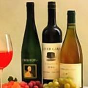 Evening Wine Display Poster