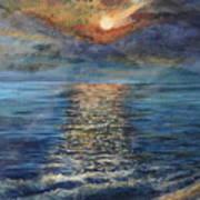 Evenning Sun Poster