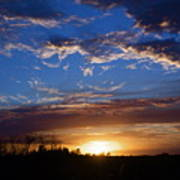 Everglade Sunset Poster