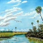 Everglades Inlet Poster