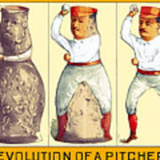 Evolution Of A Pitcher Poster