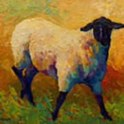Ewe Portrait Iv Poster by Marion Rose