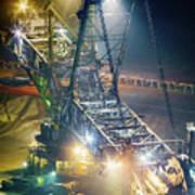 Excavator Coalmine Garzweiler  Poster