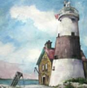 Execution Rocks Lighthouse Poster