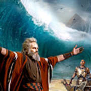 Exodus Moses And Pharaoh  Of Egypt Poster