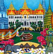 Exotic Bangkok Poster by Lisa  Lorenz