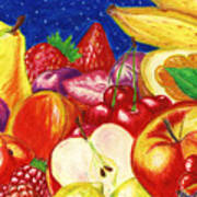 Exotic Fruts  Poster