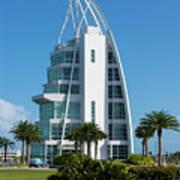 Exploration Tower Florida Poster