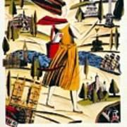 Explore London With A London Transport Explorer Pass - London Underground - Retro Travel Poster Poster