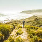 Exploring The West Coast Of Tasmania Poster