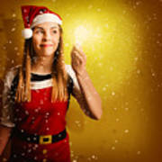 Explosive Christmas Gift Idea Poster