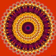 Expression No. 7 Mandala Poster